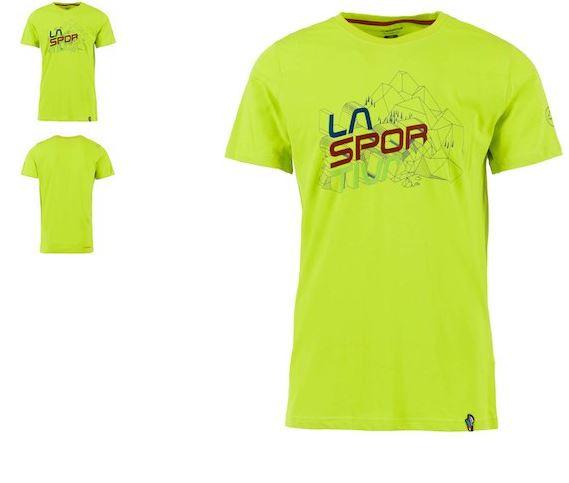 La Sportiva Shirt Cubic grün
