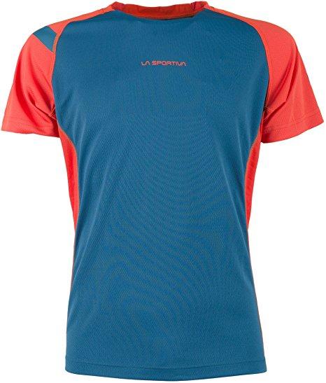 La Sportiva Apex Funktionsshirt blau/rot